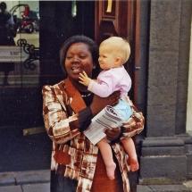 Idalina mit Baby