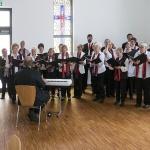 Kirchenchorprobe im Gemeindezentrum