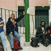Warten in Lissabon